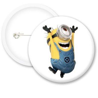Despicable Me Minions Button Badge Style 16