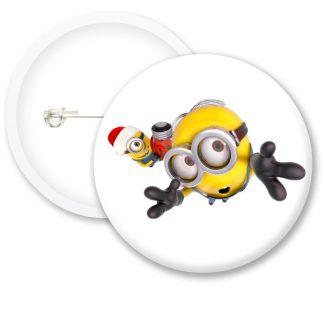 Despicable Me Minions Button Badge Style 19