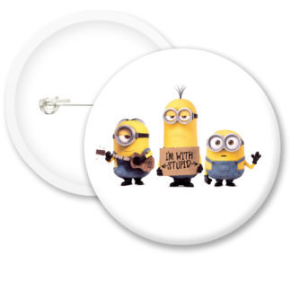 Despicable Me Minions Button Badge Style 20