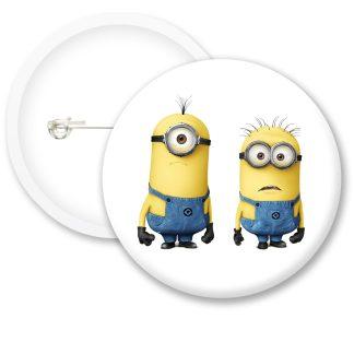 Despicable Me Minions Button Badge Style 21