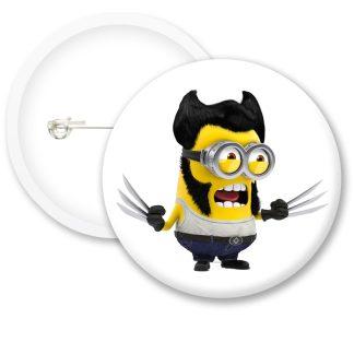 Despicable Me Minions Button Badge Style 23
