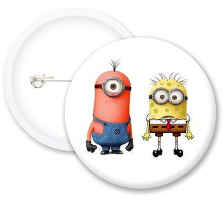 Despicable Me Minions Button Badge Style 24