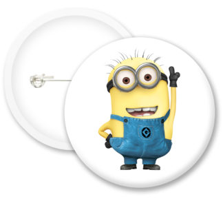 Despicable Me Minions Button Badge Style 26