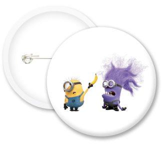 Despicable Me Minions Button Badge Style 28