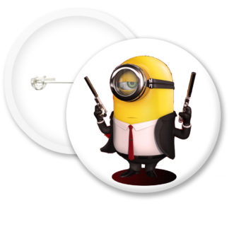 Despicable Me Minions Button Badge Style 30