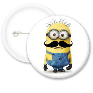 Despicable Me Minions Button Badge Style 31