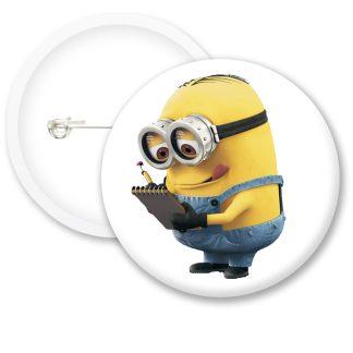 Despicable Me Minions Button Badge Style 34