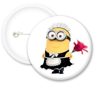Despicable Me Minions Button Badge Style 3