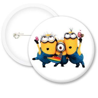 Despicable Me Minions Button Badge Style 4