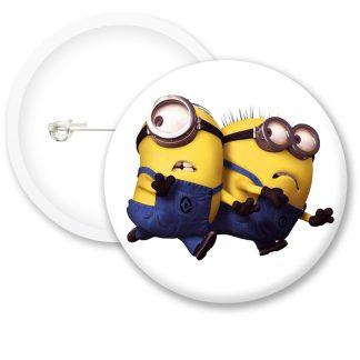 Despicable Me Minions Button Badge Style 5