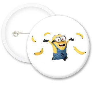 Despicable Me Minions Button Badge Style 6