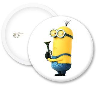 Despicable Me Minions Button Badge Style 7