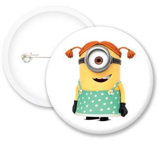 Despicable Me Minions Button Badge Style 8