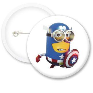 Despicable Me Minions Button Badge Style 9