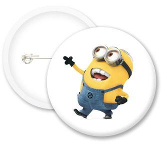 Despicable Me Minions Dave Button Badge