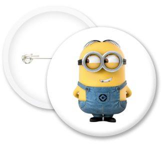 Despicable Me Minions Dave Style 2 Button Badge