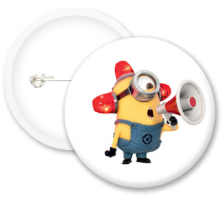 Minions Button Badge Style 1