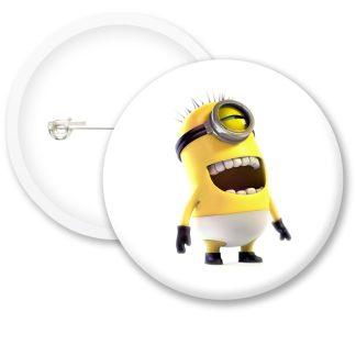 Minions Button Badge