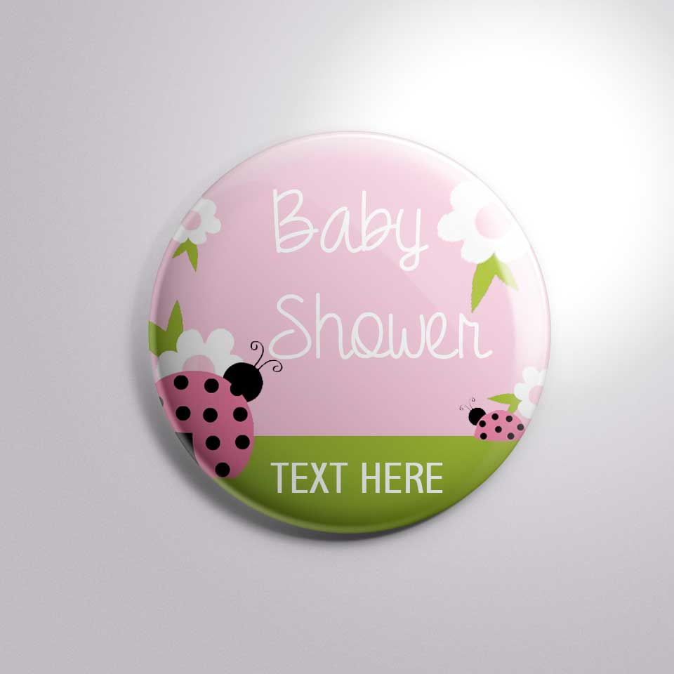 home baby shower baby shower with text button badge bs0017 1 50