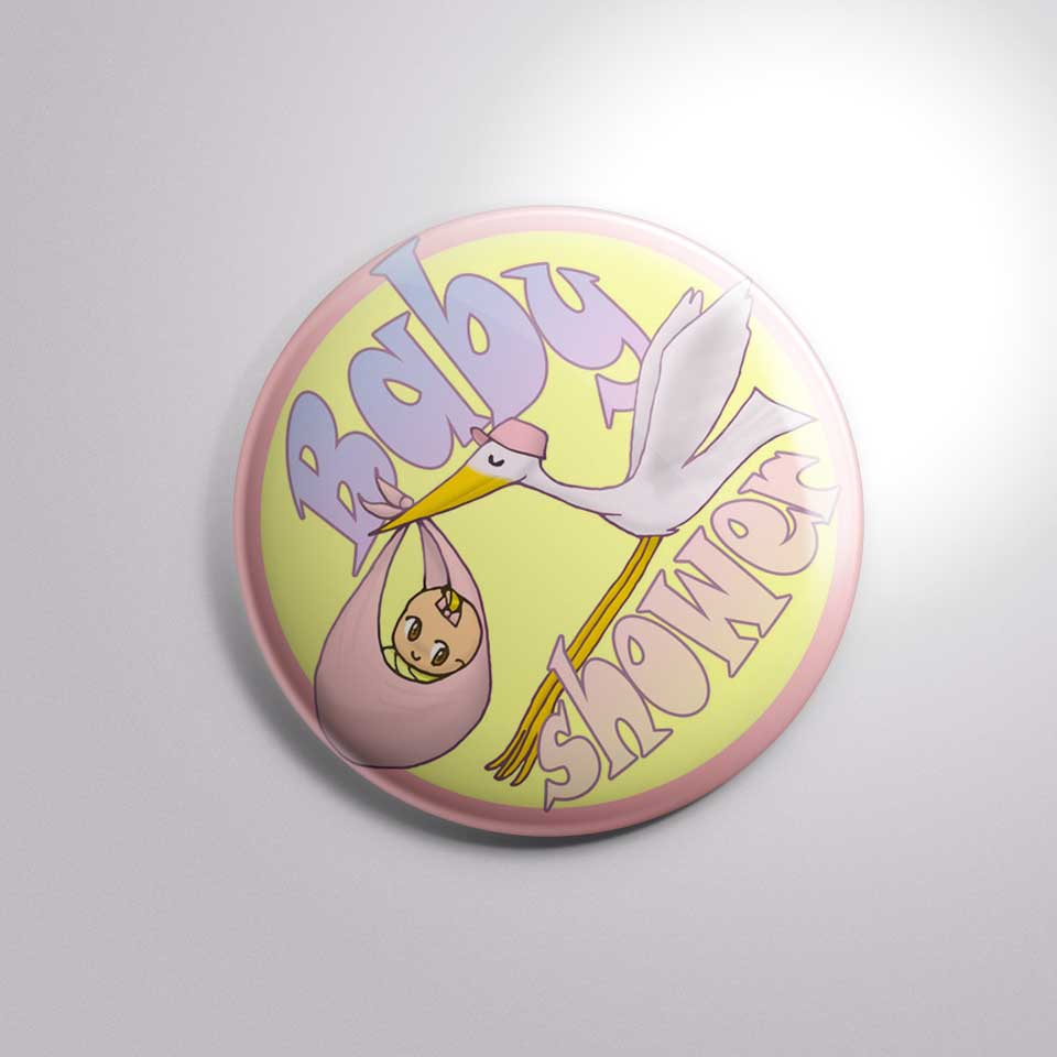 home baby shower baby shower new born button badge bs005 1 50 2