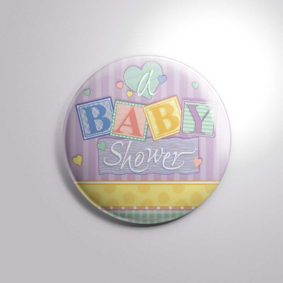 home baby shower new born baby shower button badge bs007 1 50 2